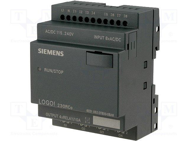 Реле прогр. основные модули,SIEMENS,6ED1052-2FB00-0BA6