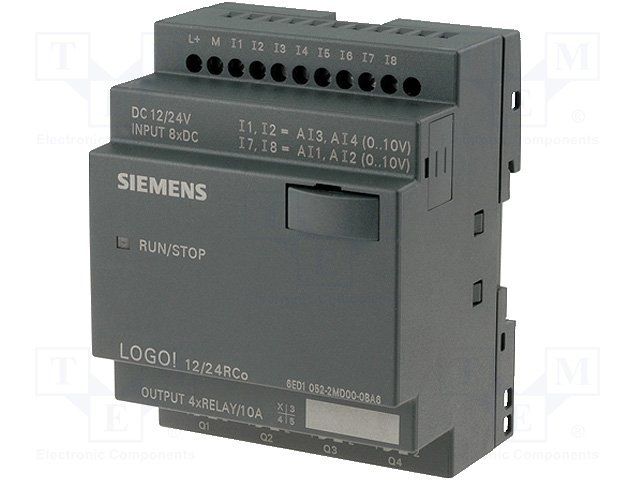 Реле прогр. основные модули,SIEMENS,6ED1052-2MD00-0BA6