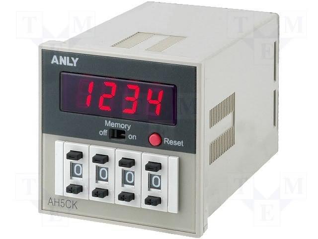 Счетчики импульсов,ANLY ELECTRONICS,AH5CK 100-240V AC/DC