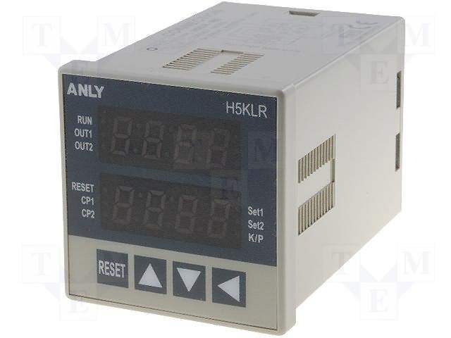 Счетчики импульсов,ANLY ELECTRONICS,H5KLR-8BI 100-240V AC/DC