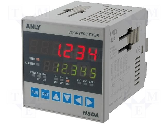 Счетчики импульсов,ANLY ELECTRONICS,H8DA 12-48V AC/DC