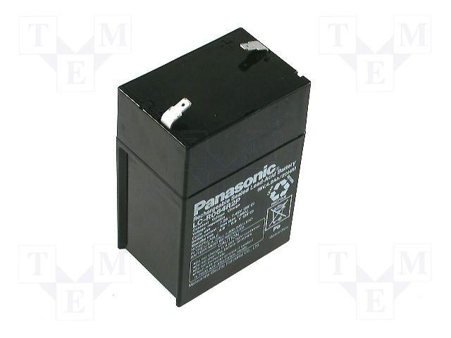 Аккумуляторы кислотные,PANASONIC,LC-R064R5P