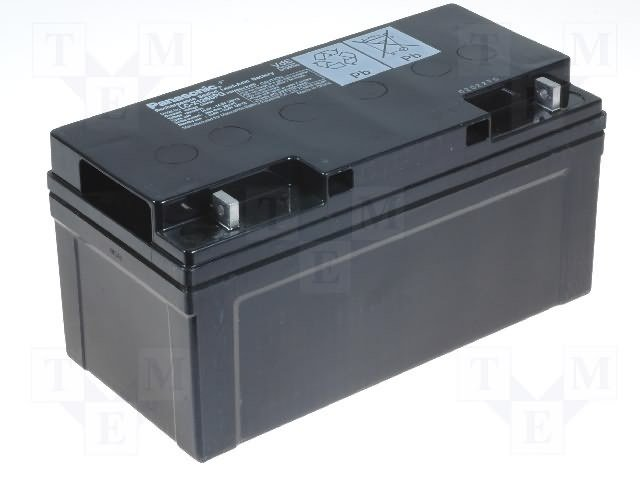 Аккумуляторы кислотные,PANASONIC,LC-X1265PG