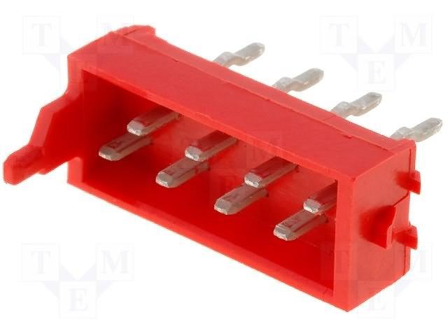 Разъeмы Micro-Match растр 1,27мм,TE CONNECTIVITY,7-215464-8