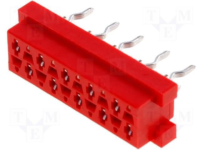 Разъeмы Micro-Match растр 1,27мм,TE CONNECTIVITY,8-215079-0