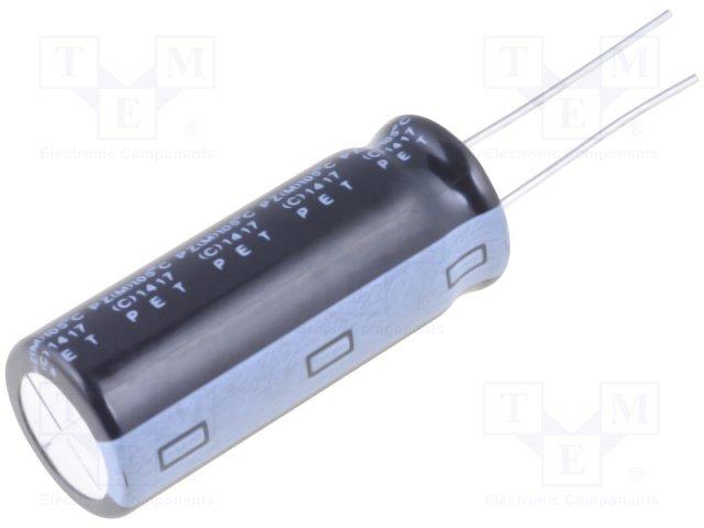 Конденсаторы электролитические THT 105°C,ELITE,PZ2D221MNN1435